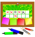 stationary objects vector image