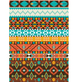 Seamless navajo geometric pattern vector image vector image