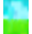 green and blue background vector image