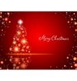 Christmas backgrpund vector image vector image