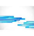 Background with blue lines vector image vector image