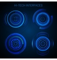 Futuristic Hud Interface vector image