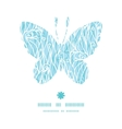 abstract frost swirls texture butterfly silhouette vector image