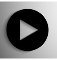 play button background vector image
