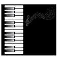 piano note vector image