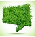 Bubble Green Grass Texture vector image