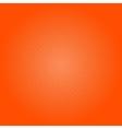 Dots on Orange Background Pop Art Background vector image