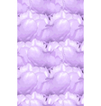 seamless background with lilac flowers vector image