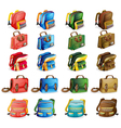 various bags vector image vector image