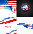 american flag abstract background with creative vector image