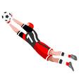 Soccer Block 2016 Sports 3D Isometric vector image