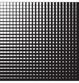 Line halftone pattern vector image