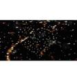 Blurred night city landscape vector image vector image
