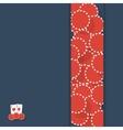 poker background vector image