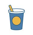 bucket and shovel icon vector image