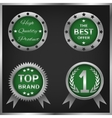 badges and labels vector image