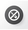 forbidden icon symbol premium quality isolated no vector image