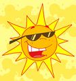 Hot Sun vector image vector image