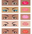moutheye vector image