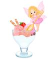 Ice Cream Fairy vector image