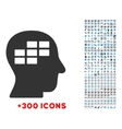 Schedule Thinking Icon vector image