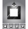 Gallery room vector image