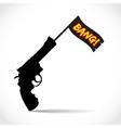 Gun Bang vector image