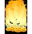 grungy halloween vector image vector image