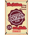 Color vintage Boxing poster vector image