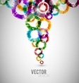 Abstract circles design vector image