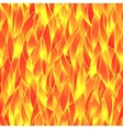 Seamless fiery pattern vector image vector image