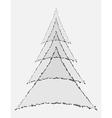 Geometric stylization vector image
