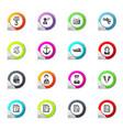 job icons set vector image