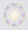 Flower of Life design vector image