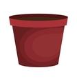 pot graden empty icon vector image