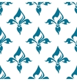 Classical French fleur-de-lis seamless pattern vector image