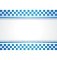 Police background vector image vector image