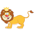 Lion King Of Jungle vector image vector image