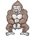 Monkey Monster vector image
