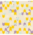 Chevron seamless pattern or tile background vector image vector image