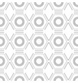 black and white seamless geometric pattern with vector image