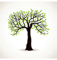 green leaf tree vector image