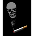 smoking is injurious to health vector image