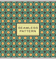 retro seamless pattern with simple geometric vector image
