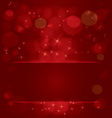 Sparkling stars and light vector image vector image