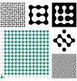 maze constructor vector image vector image