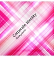 Abstract background glow rhombus vector image
