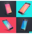 Smartphone 3d vector image