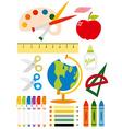 School equipment vector image vector image
