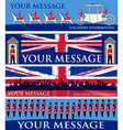 royal jubilee banners vector image vector image